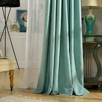 popular cheap stitching embroidery dolly sheer curtain british living room curtains with embroidery