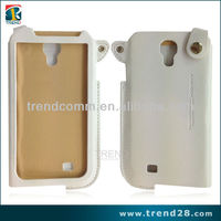 new products 2014 hot ultra thin landyard leather case for sansung galaxy s4 i9500