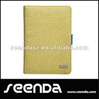 OEM removable fabric bluetooth keyboard case cover for ipad mini