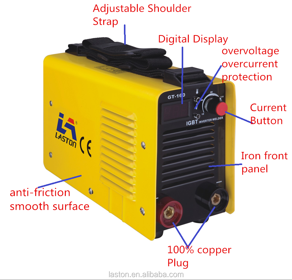 Portable Handle Mini Mma Double Boards Igbt Inverter Dc Arc Welding Diagram Homemade Welder Professional Technology Made The Quality Of Champion Machine
