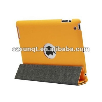 sleep function smart leather case for tablet