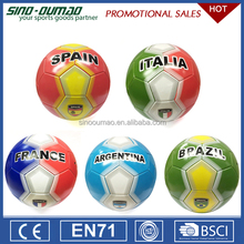 Wholesale Cheap Price 2018 World Cup Pvc Offical Size 5 Match Soccer Balls Futsal