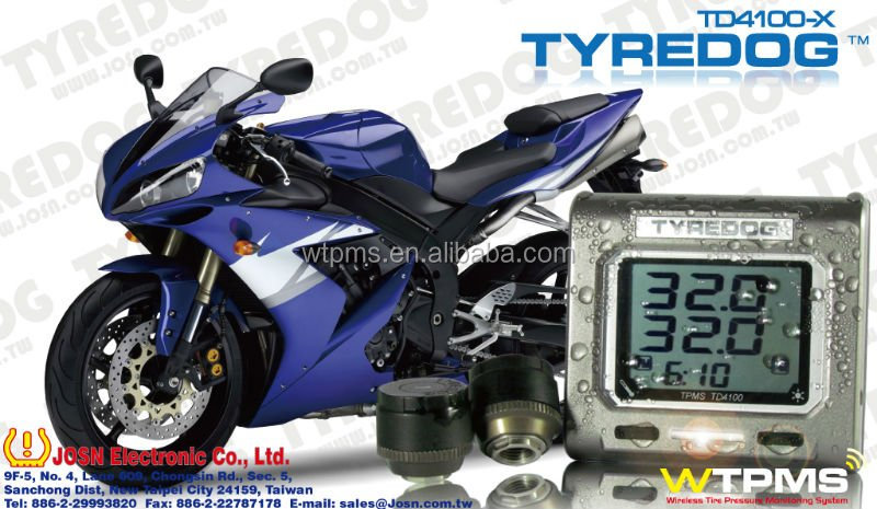 Hot selling TPMS for Motorcycle by TYREDOG