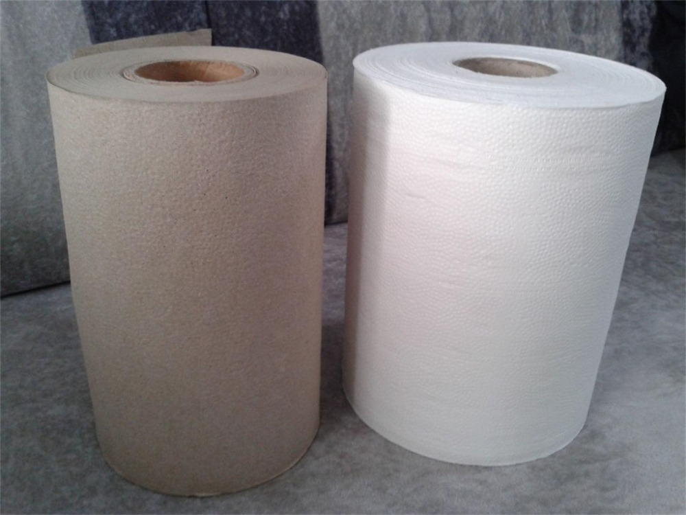 Industrial Virgin Pulp Paper Tissue Jumbo Roll/hardwound towel paper roll/white towel paper