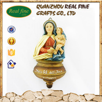 resin holy water font home decoration