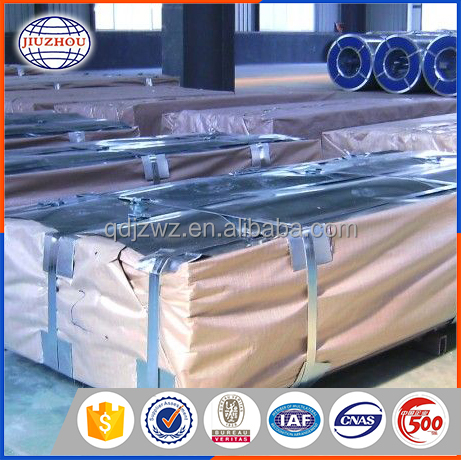 Decorative Metal Galvalume Roofing Sheet Size