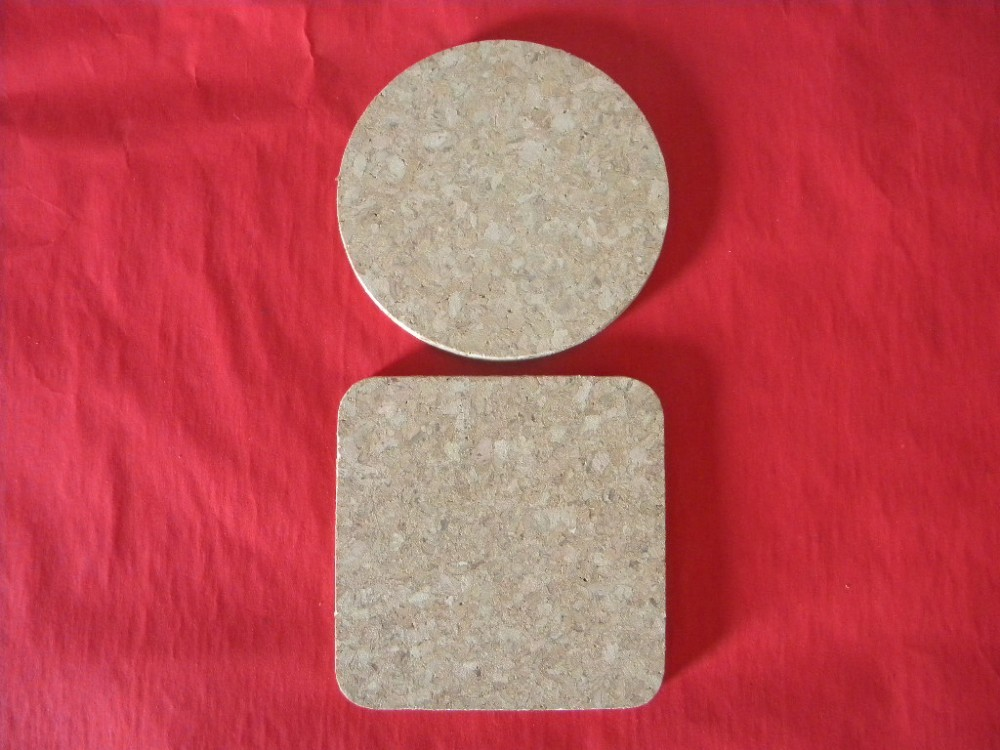 square cork hot pad, custom hot pad, heating pad