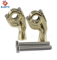 Wholesale High Quality Brass 14cm*10cm*5cm Pair Handlebar Riser For 1'' 25.4mm Handlebar Clamp