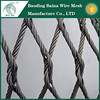 Decorative Stainless Steel knotted woven wire rope mesh net