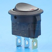 Automotive Rocker Switch with 12VDC LED