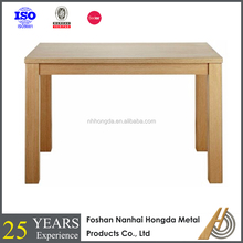 Simple design wood table base for wholesale