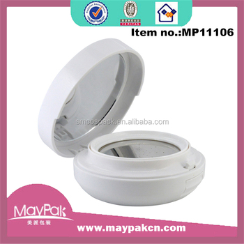 Made in China plastic empty bb air cusshion compact