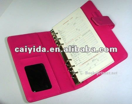 2013 subject square printed notebook with pen and calendar
