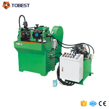 hydraulic thread rollers steel bar thread making machine for sale