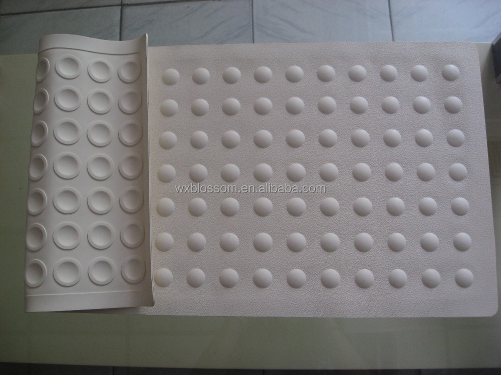 Fashionable non slip rubber shower mat