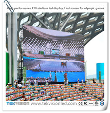 High performance P10 stadium led display led screen for Olympic games