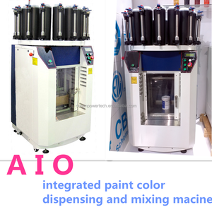Oceanpower AIO Paint Tinting Machine and shaker for paint and colorant
