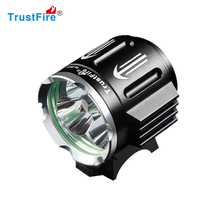 Factory 4.2V Trustfire D011 rechargeable waterproof mountain led bike light with 3 XML-2 2100lumes CE certificate