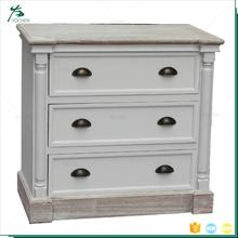 Solid wood furniture home bedside cute storage drawer factory direct