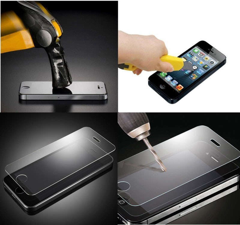 9H Anti ShockTempered Glass For Blu Dash JR 3.5 D141w