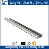 High Quality Not Perforated Perforated C Steel Box Channel