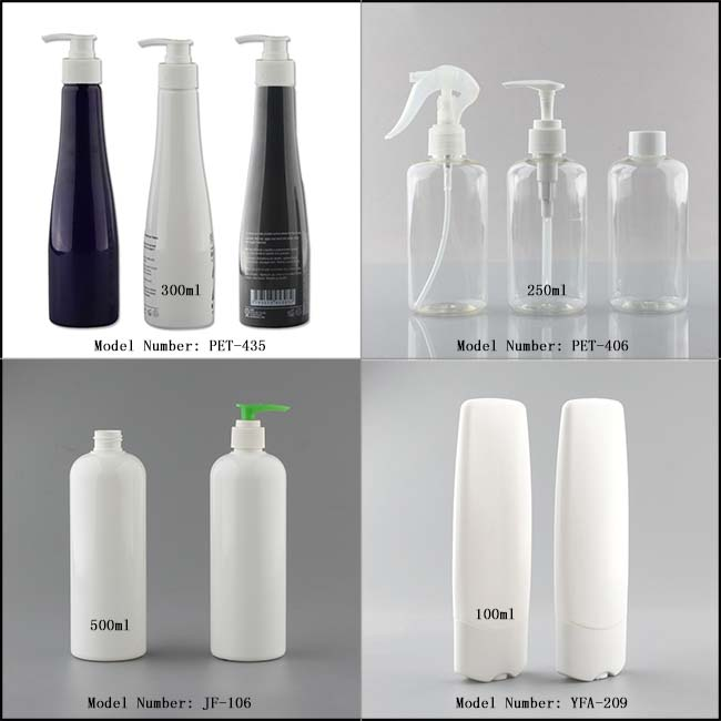custom 100ml,250ml 500ml biodegradable empty plastic hair shampoo bottle,shower gel bottle