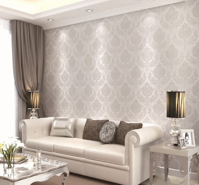 Flower wall backdrop pvc wallpapers for decorative tv wall - Wall wallpaper wall panel ...