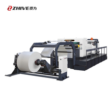 Automatic jumbo reel to sheet cutting machine paper roll cutter