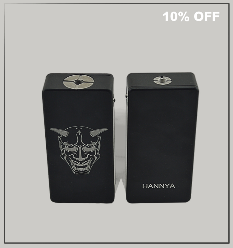Dual 18650 Switch Box Mod Series/ Parallel Hannya Box by VaporIjoye