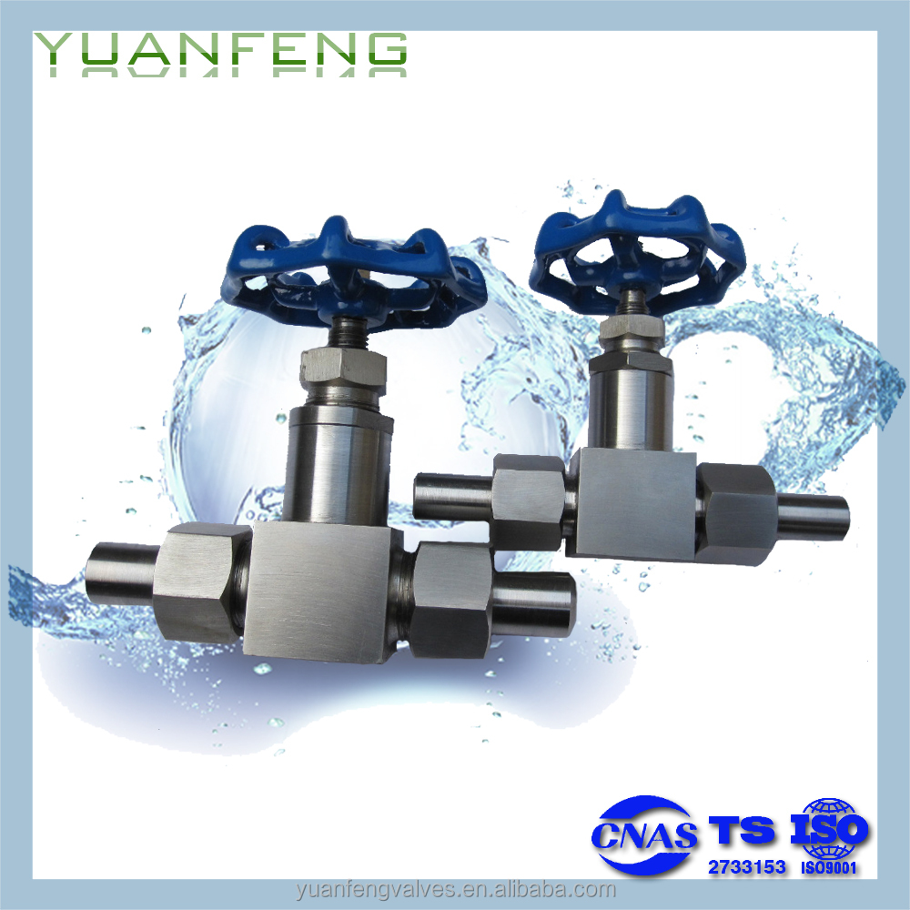 Manual welding stainless steel needle valve