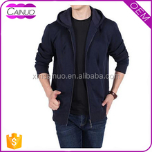 Wholesale plain hoody jackets ,custom 100% cotton hoodie