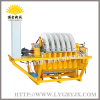 Ceramic Disc type vacuum water filter charcoal making machine