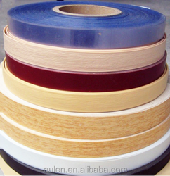 pvc edge banding for kitchen cabinet/pvc edge banding for plywood