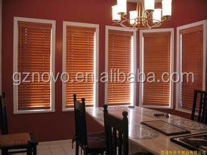 Manufacturer customized motorized venetian blinds motor / cheap price red bamboo venetian blinds