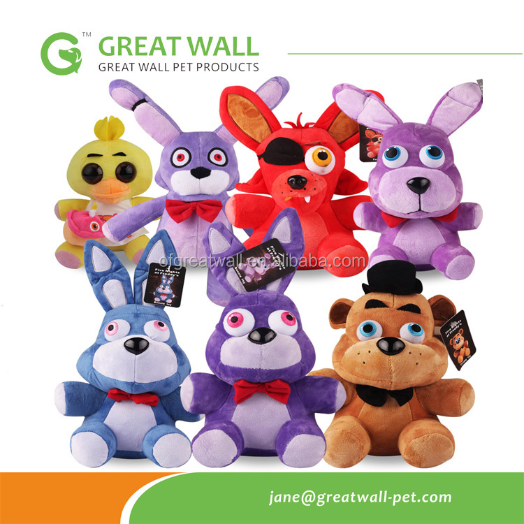 The full range of foreign trade toys bear five night harem plush toy doll