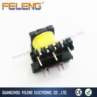 high frequency flyback transformer / ei series ferrite core power transformer