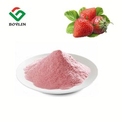 Wholesale Strawberry Fruit Juice Concentrate Powder Instant Strawberry Fruit Flavored Drink Powder