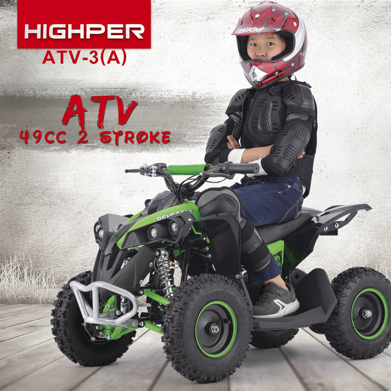 New 2019 1000W 36v kids Mini fast electric quad bike atv CE(ATV-3EA)