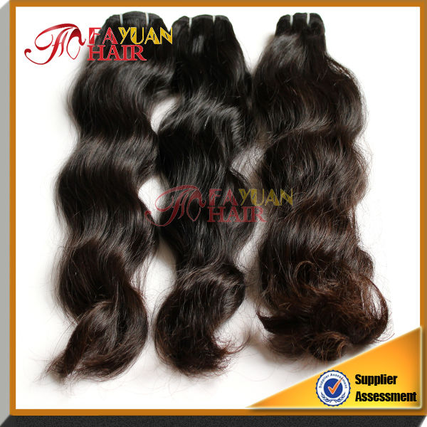 2013 best seller natural color 100% Virgin Brazilian Loose Wave Hair extension