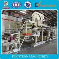 Small Capacity 787mm Tissue Paper Making Machine