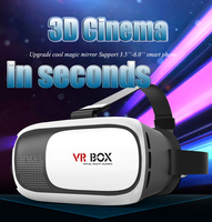 New 3d Virtual Reality 3d Vr Glasses, ABS Plastic Excellent Visual 3d Glasses Vr Box