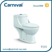 Sanitary ware bathroom washdown chinese one piece toilet W101
