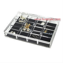 Top grade classical acrylic jewelry box necklace organizer