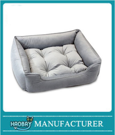 Premium Bolster Lounge Dog Bed
