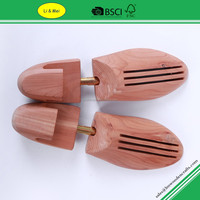 LM015C High Quality Natual Adjustable Shoe Trees Cedar Wood With Low Price