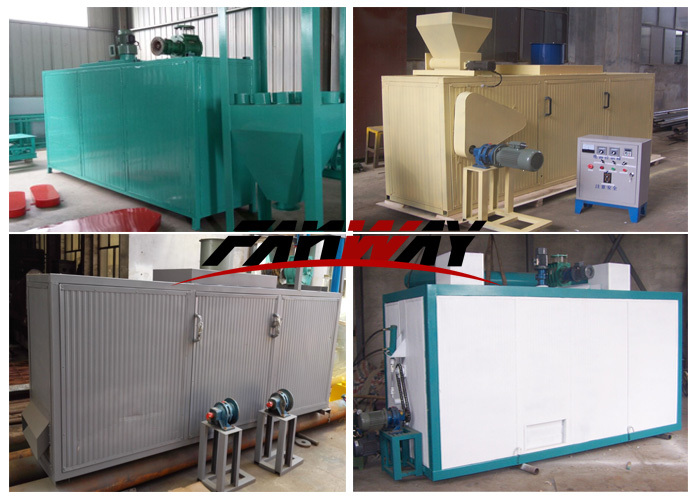 Fanway hot air belt type animal feed / fish feed pellet dryer machines