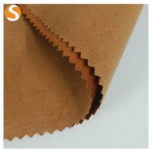 Top quality 100%Polyester soft suede tape knit fabric