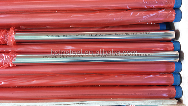 JIS G3447 Stainless Steel sanitary Pipes