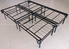 Deluxe metal bed base with cover