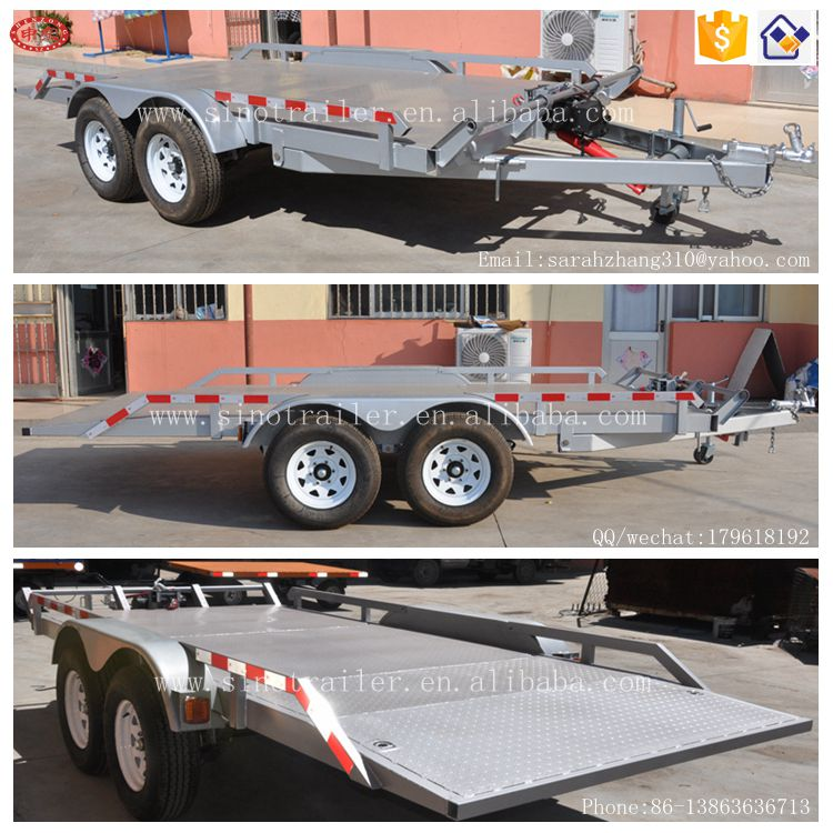 Factory Supply Transport Trailer Car Trailer Small Excavator Trailer